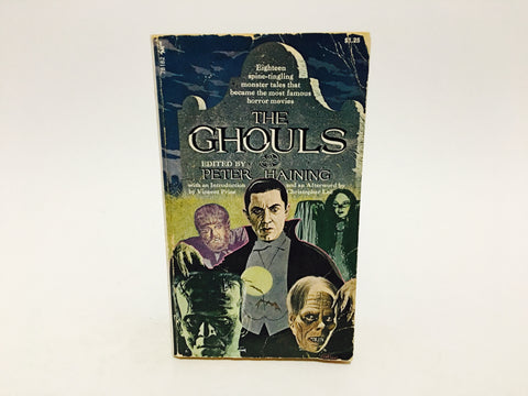 The Ghouls 1972 Paperback Anthology