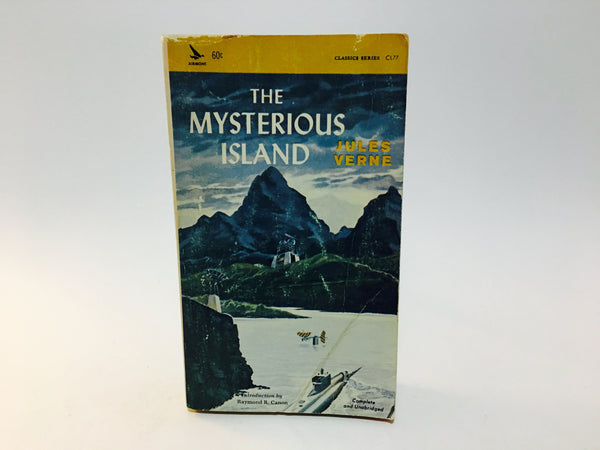 The Mysterious Island by Jules Verne 1965 Paperback Classic - LaCreeperie