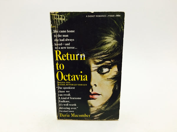 Return to Octavia by Daria Macomber 1968 Paperback - LaCreeperie