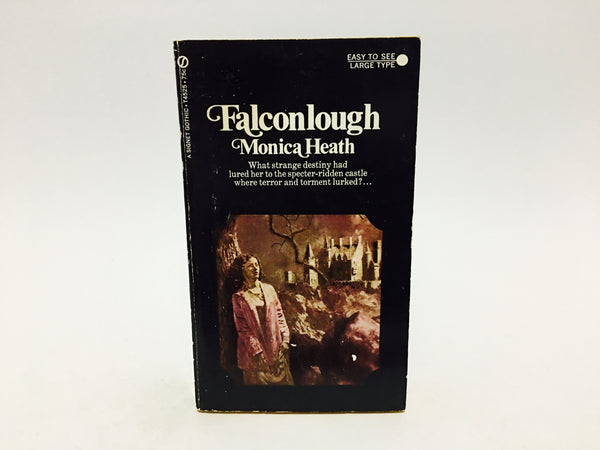 Falconlough by Monica Heath 1966 Paperback - LaCreeperie