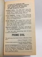 RESERVED Prime Evil 1989 First Edition Paperback Anthology - LaCreeperie
