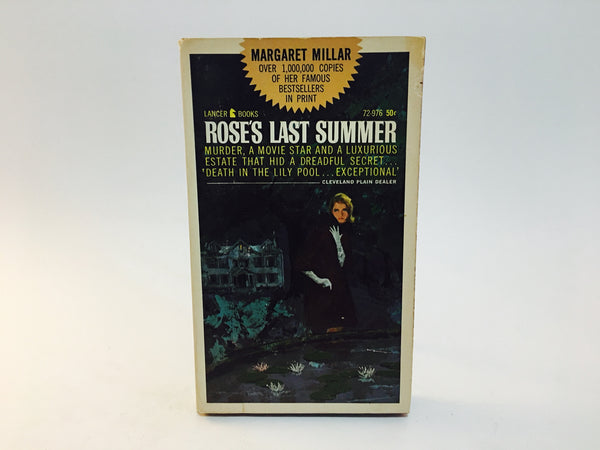 Roses's Last Summer by Margaret Millar 1965 Paperback - LaCreeperie