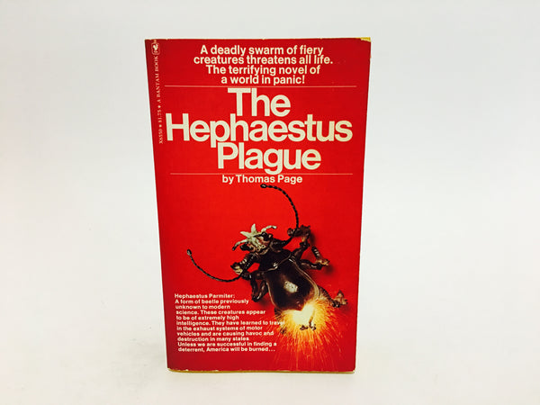 The Hephaestus Plague by Thomas Page 1975 Paperback - LaCreeperie