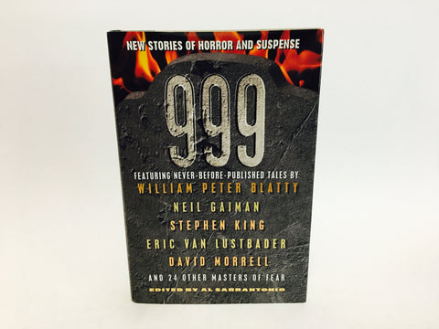 999 Edited by Al Sorrentonio 1999 First Edition Hardcover Anthology