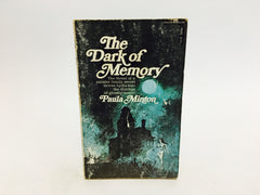 The Dark of Memory by Paula Minton 1967 Paperback - LaCreeperie