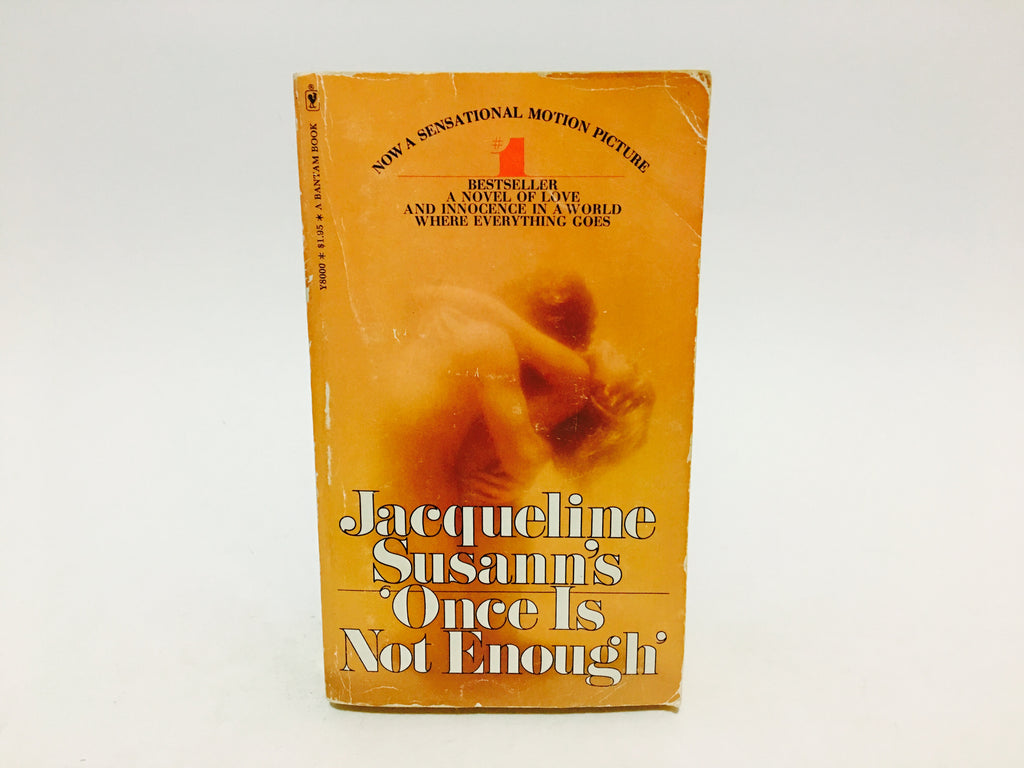 Once Is Not Enough by Jacqueline Susann 1975 Paperback - LaCreeperie