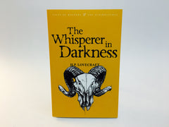The Whisperer in Darkness & Other Stories by H.P. Lovecraft 2007 UK Edition Softcover Anthology - LaCreeperie