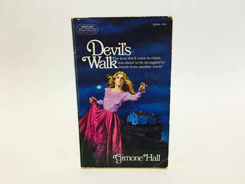 Devil's Walk by Gimone Hall 1974 Paperback