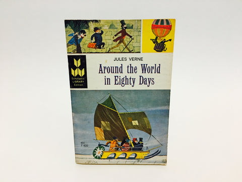 Around the World in 80 Days by Jules Verne 1964 Paperback Classics