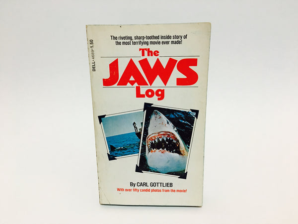 The JAWS Log by Carl Gottlieb 1975 Edition Paperback - LaCreeperie
