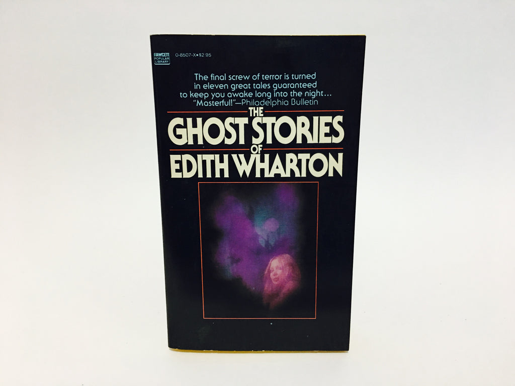 The Ghost Stories of Edith Wharton 1976 Paperback Anthology - LaCreeperie