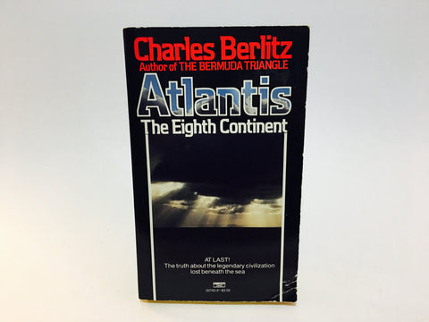 Atlantis The Eighth Continent by Charles Berlitz 1985 Edition Paperback