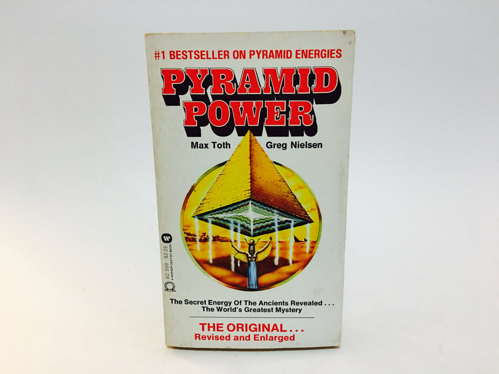 Pyramid Power by Max Toth & Greg Nielson 1976 Paperback - LaCreeperie