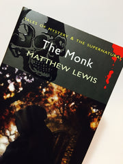 The Monk by Matthew Lewis 2009 UK Edition Softcover - LaCreeperie