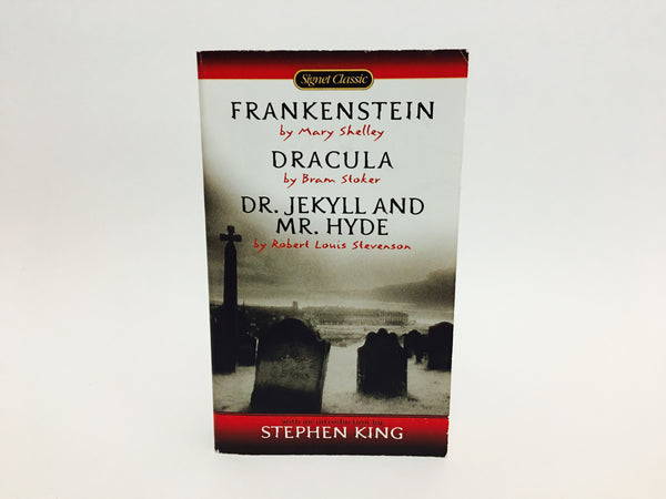 Frankenstein / Dracula / Dr. Jekyll and Mr. Hyde 2000s Signet Edition Paperback - LaCreeperie
