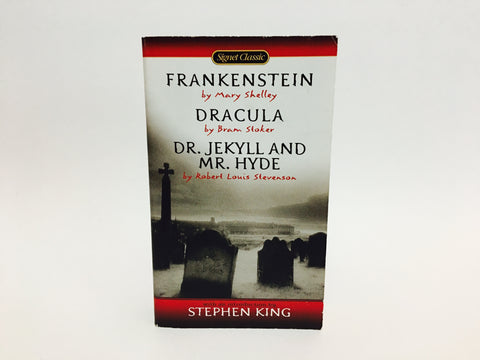 Frankenstein / Dracula / Dr. Jekyll and Mr. Hyde 2000s Signet Edition Paperback