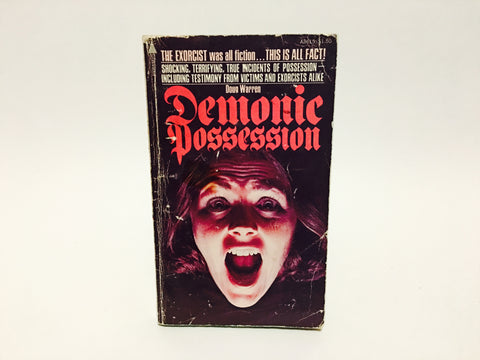 Demonic Possession by Doug Warren 1975 Paperback