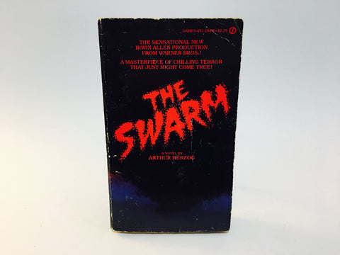 The Swarm by Arthur Herzog 1975 Paperback Killer Bees
