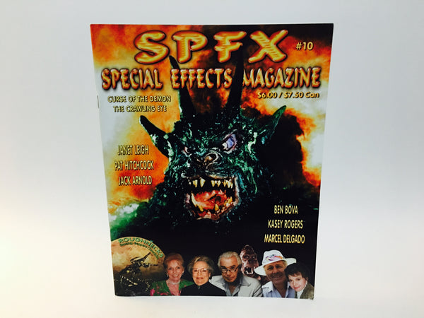 SPFX Magazine #10 2002 Curse of the Demon The Crawling Eye - LaCreeperie