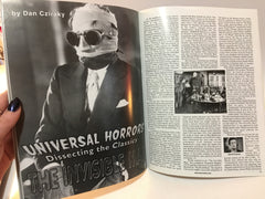 Horror Biz Magazine #6 Spring/Summer 2001 Invisible Man Terence Fisher - LaCreeperie
