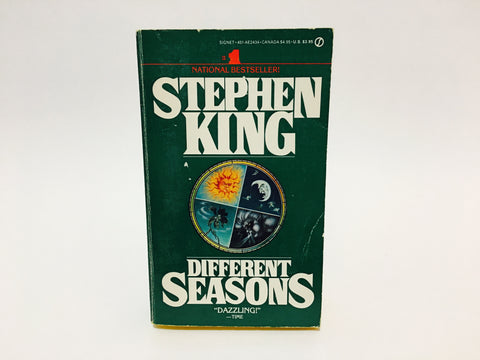 Different Seasons by Stephen King 1983 First Edition Paperback Anthology
