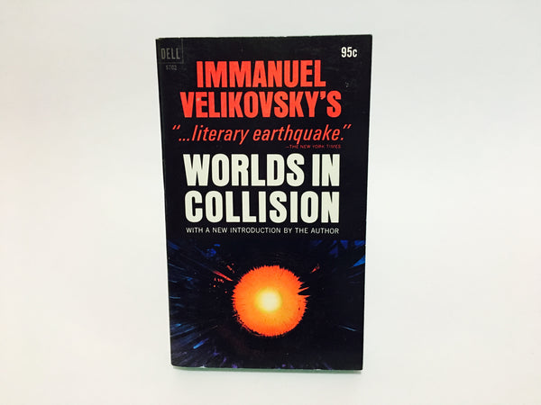 Worlds In Collision by Immanuel Velikovsky 1972 Paperback - LaCreeperie