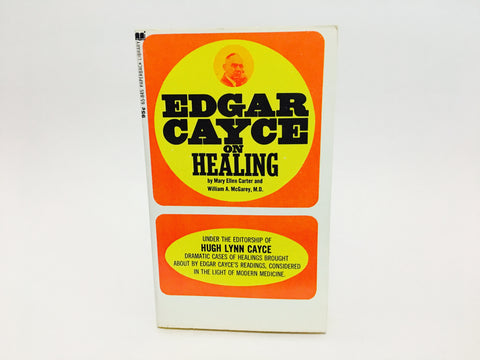 Edgar Cayce On Healing 1972 Paperback