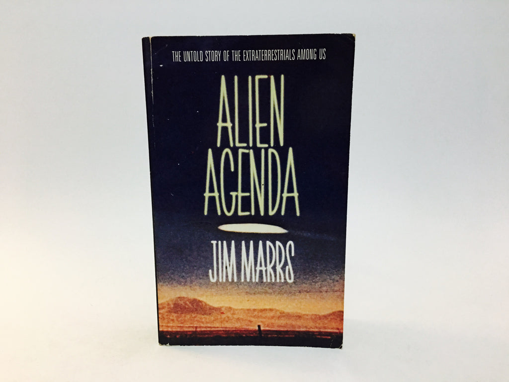 Alien Agenda by Jim Marrs 1998 UK Edition Paperback - LaCreeperie