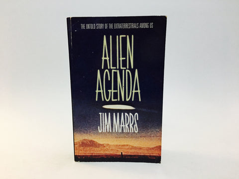 Alien Agenda by Jim Marrs 1998 UK Edition Paperback