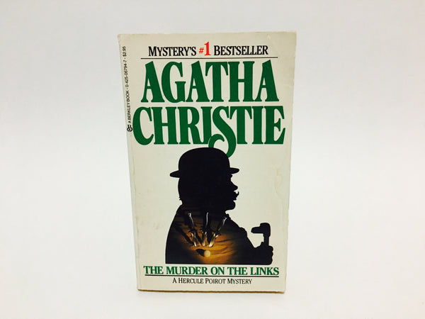 The Murder on the Links by Agatha Christie 1987 Paperback - LaCreeperie