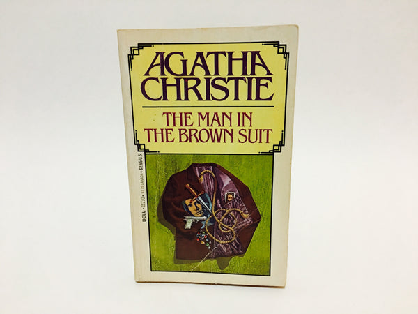 The Man in the Brown Suit by Agatha Christie 1983 Paperback - LaCreeperie