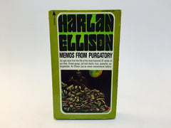 Notes From Purgatory by Harlan Ellison 1976 Paperback - LaCreeperie