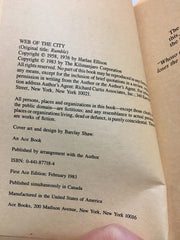 Web of the City AKA Rumble by Harlan Ellison 1983 Paperback - LaCreeperie