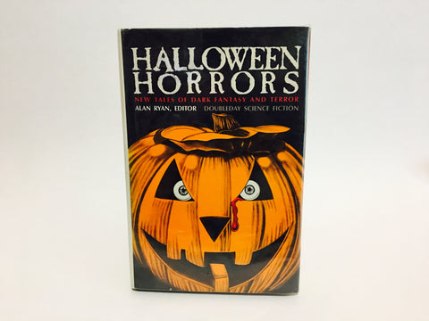 Halloween Horrors Edited by Alan Ryan 1986 Hardcover Anthology