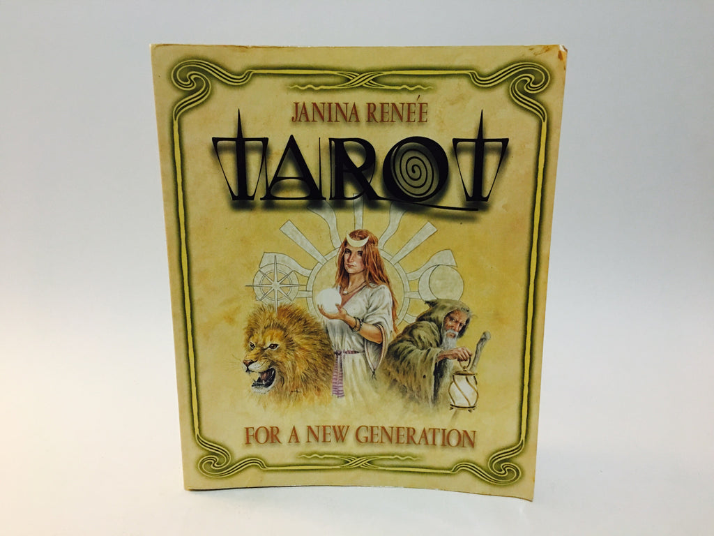 Tarot for A New Generation by Janina Renee 2001 Softcover - LaCreeperie