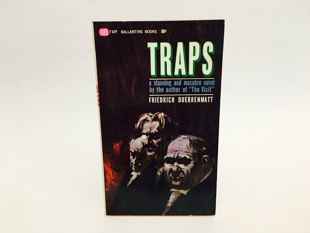 Traps by Friedrich Duerrenmatt 1960 Paperback