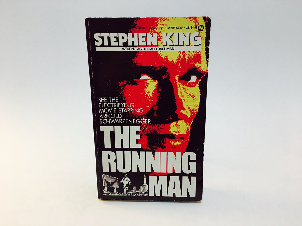 Running Man by Stephen King as Richard Bachman 1982 Movie Tie-In Paperback - LaCreeperie