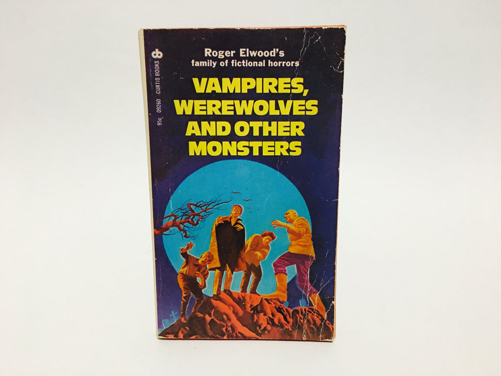 Vampires, Werewolves and Other Monsters 1974 Paperback Anthology