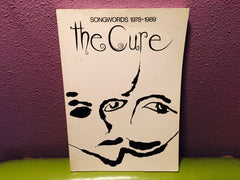 The Cure - Songwords 1978-1989 Softcover Lyrics & Photos - LaCreeperie