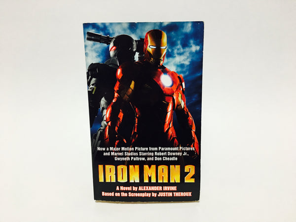Iron Man 2 Film Novelization 2010 Paperback