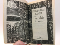 Gerald's Game by Stephen King 1993 1st Edition Paperback - LaCreeperie