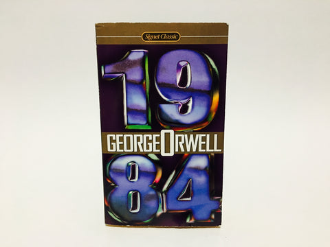 1984 by George Orwell 2000 Edition Paperback