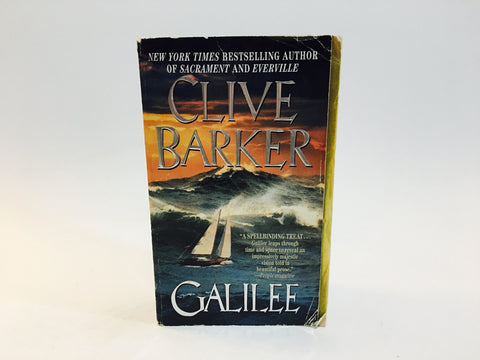 Galilee by Clive Barker 1999 First Edition Paperback