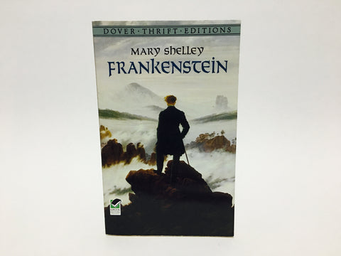 Frankenstein by Mary Shelley 1994 Dover Edition Softcover