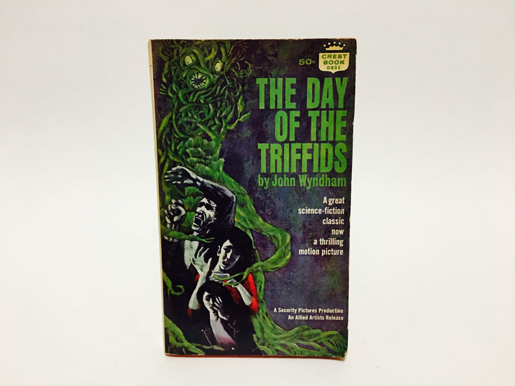 The Day of the Triffids by John Wyndham 1962 Paperback Classics
