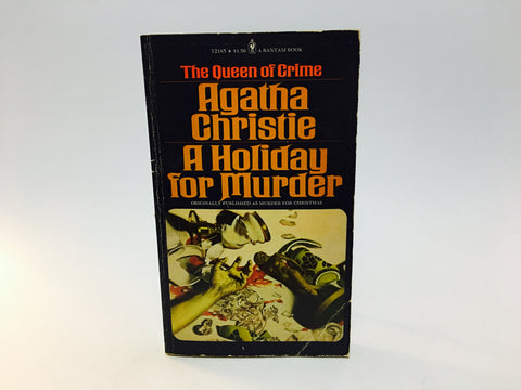 A Holiday For Murder by Agatha Christie 1975 Paperback