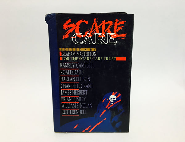 Scare Care 1989 First Edition Hardcover Anthology