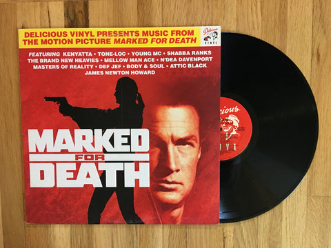 Marked For Death Original Soundtrack LP 1990 Rap Hip Hop DJ