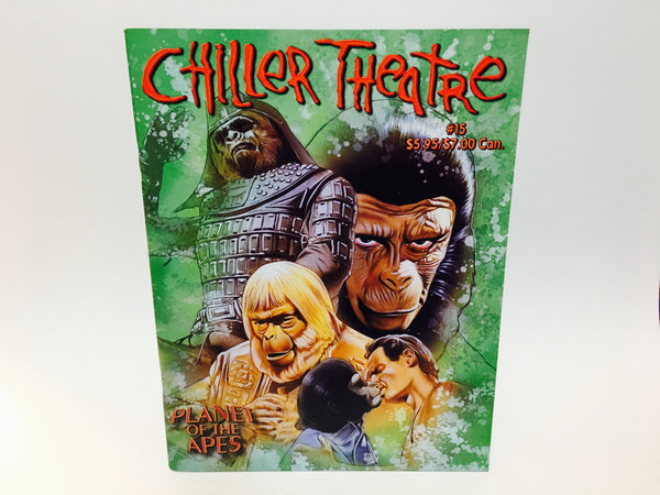 Chiller Theatre Magazine #15 2001 Planet of the Apes - LaCreeperie