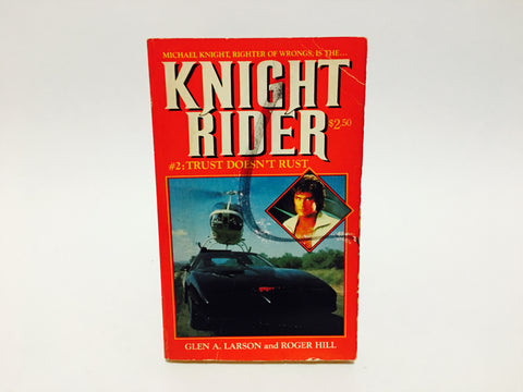 Knight Rider #2: Trust Doesn't Rust 1984 Paperback
